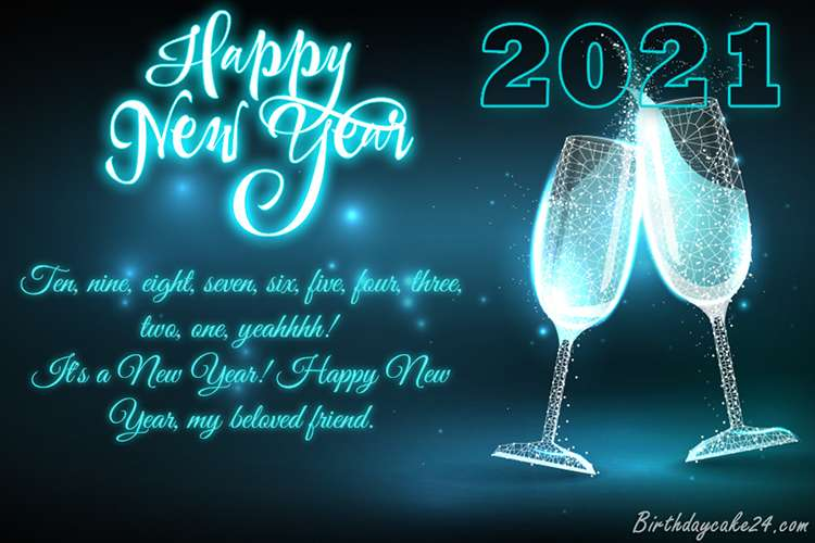Happy New Year 2021 Blessings 2658