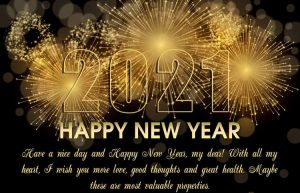 Happy New Year 2021 Blessings 32659874