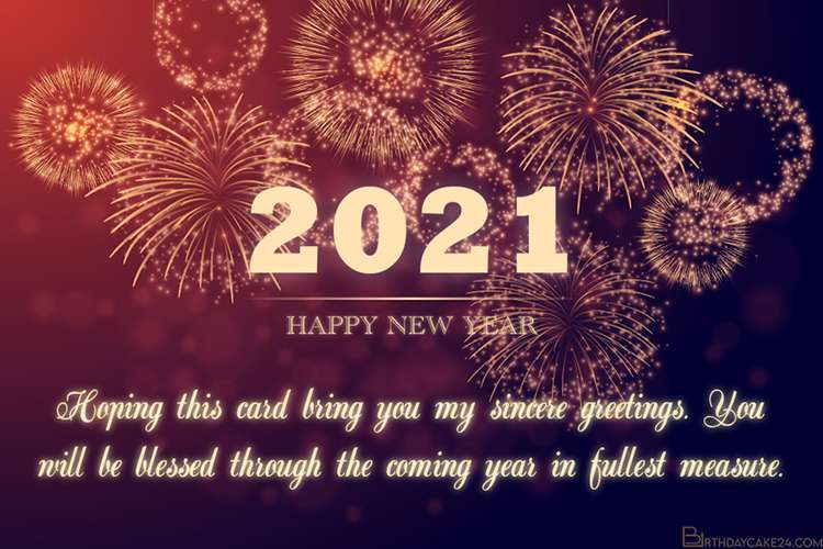 Happy New Year 2021 Blessings 58987