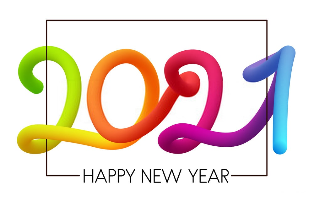 Cool Happy New Year 2021 Wallpaper
