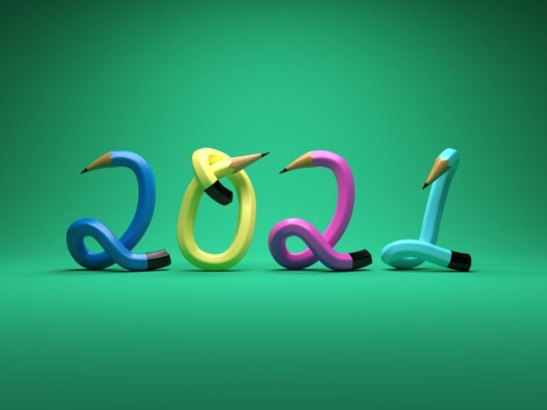 Funny Happy New Year 2021 Wallpaper