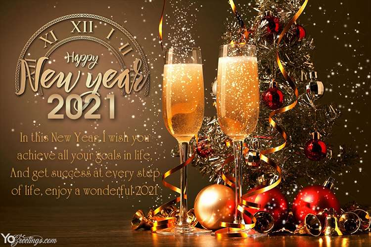Happy New Year 2021 Images Wishes Greetings 35
