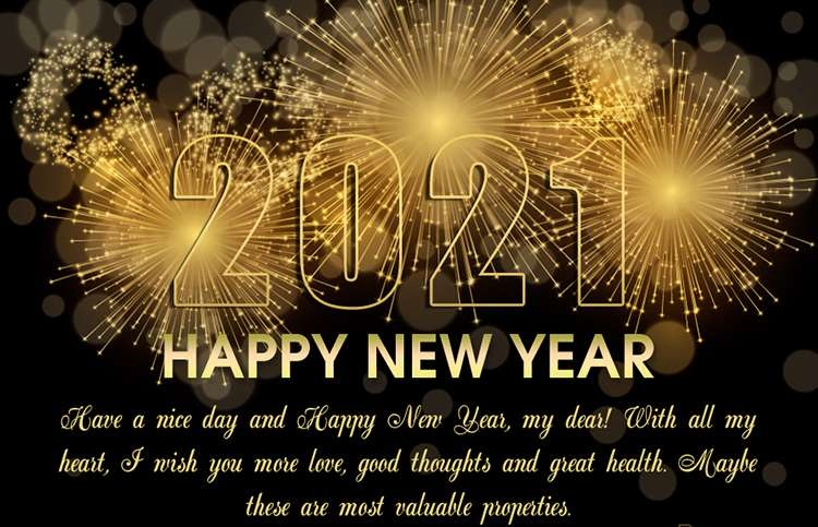 Happy New Year 2021 Images Wishes Greetings 59