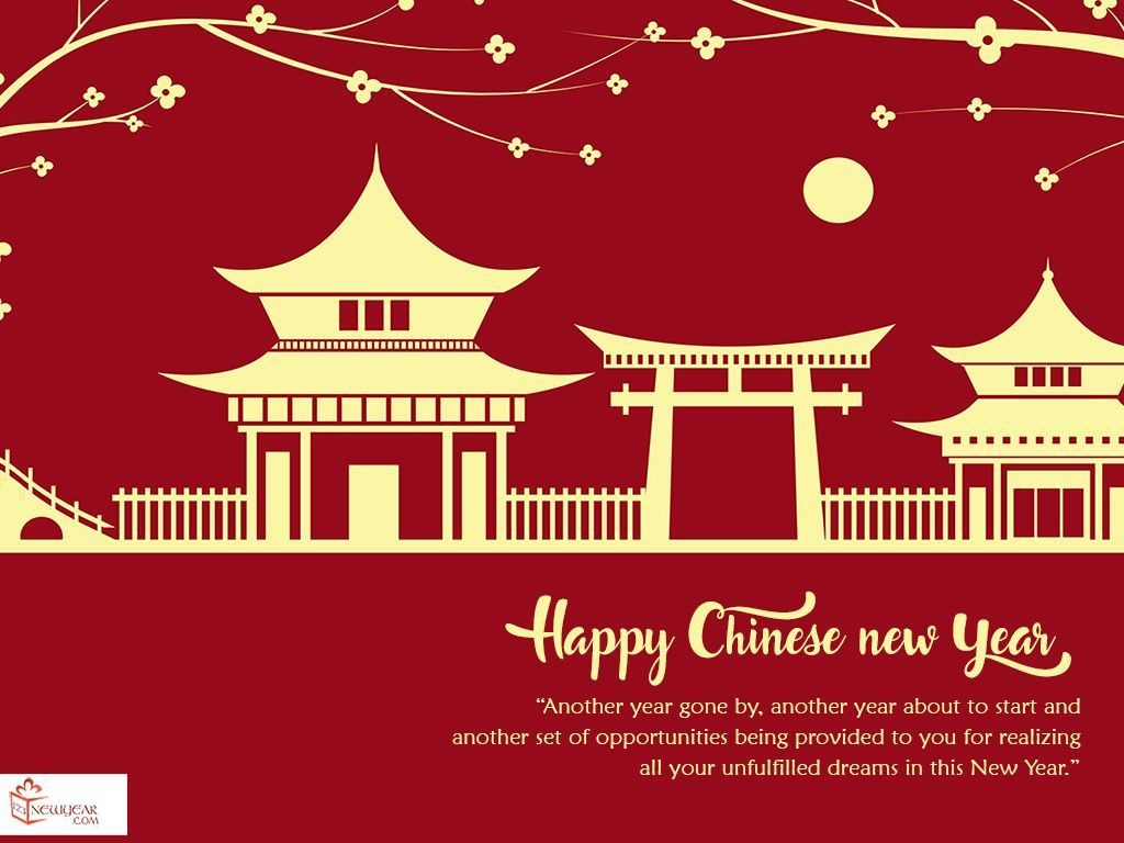 Pagbati ng Chinese Happy New Year Wallpaper