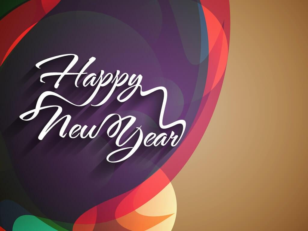 Happy New Year 3d Wallpaper 1