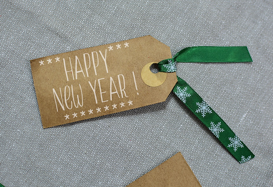 Happy New Year Decoration Card 1