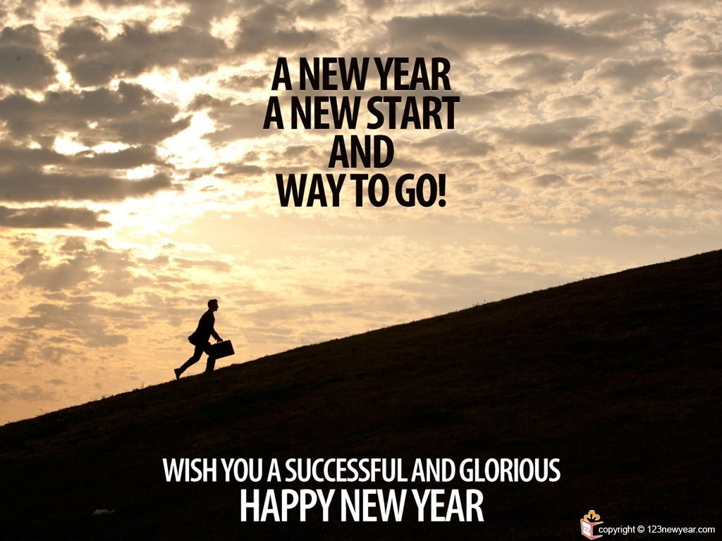 Happy New Year Motivational Greetings