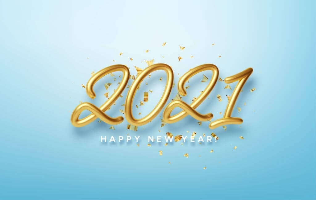 2021 Happy New Year Card Images