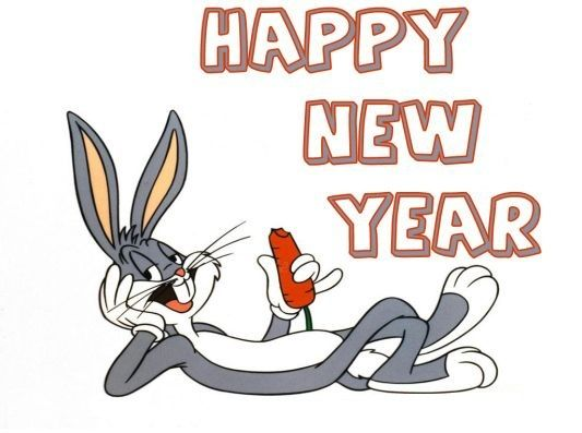 Cartoon Happy New Year Funny Image