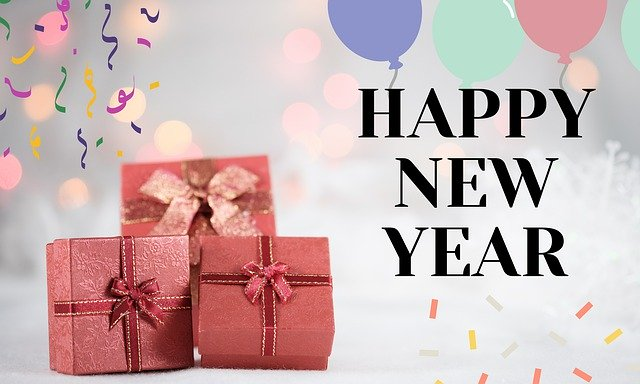Happy New Year 2020 Images With Gifts