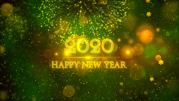 Happy New Year 2020 Wallpaper
