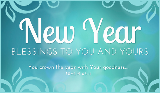 Happy New Year Wishes Blessings