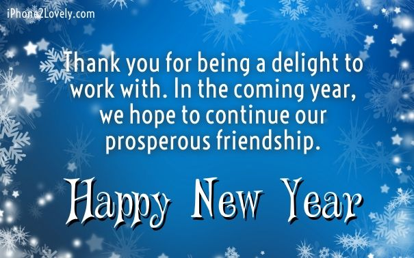 Happy New Year Blessings For Friendship