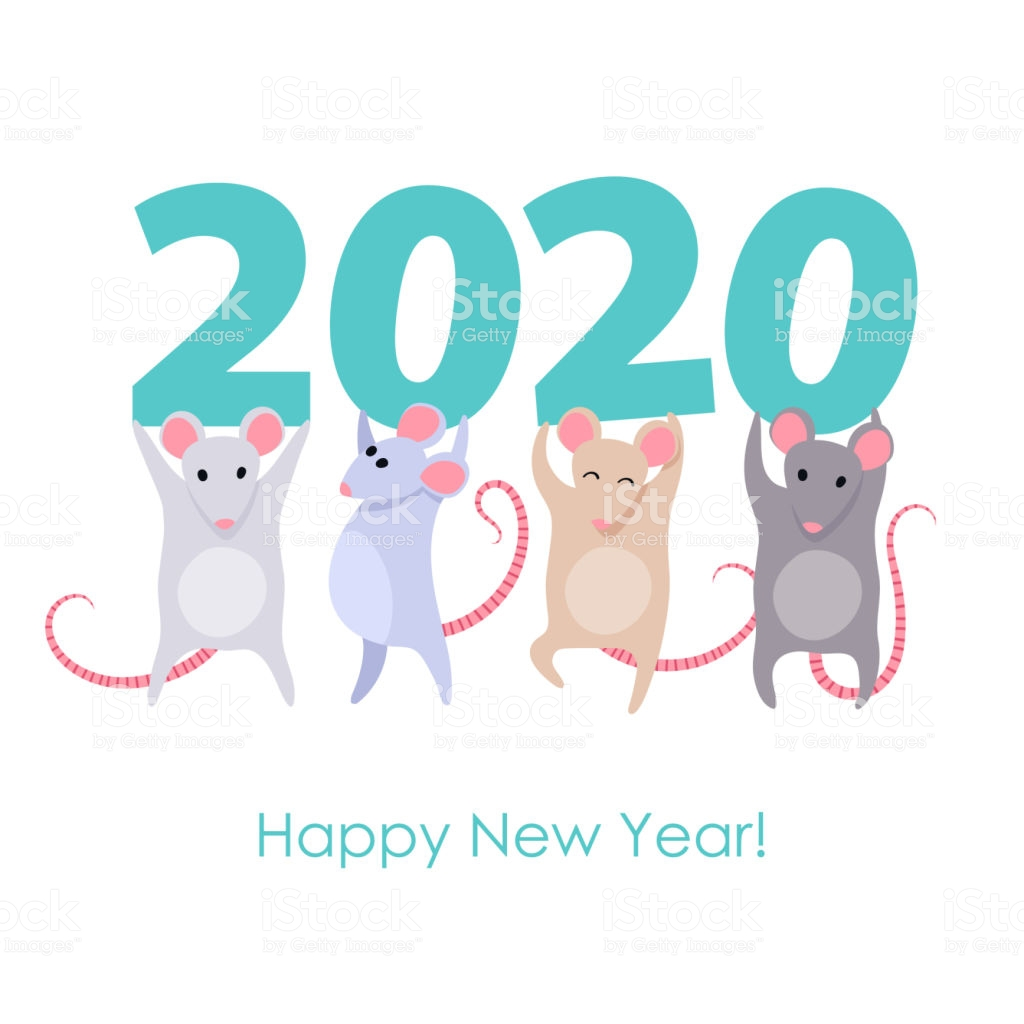 Happy New Year Funny Rats Wishes