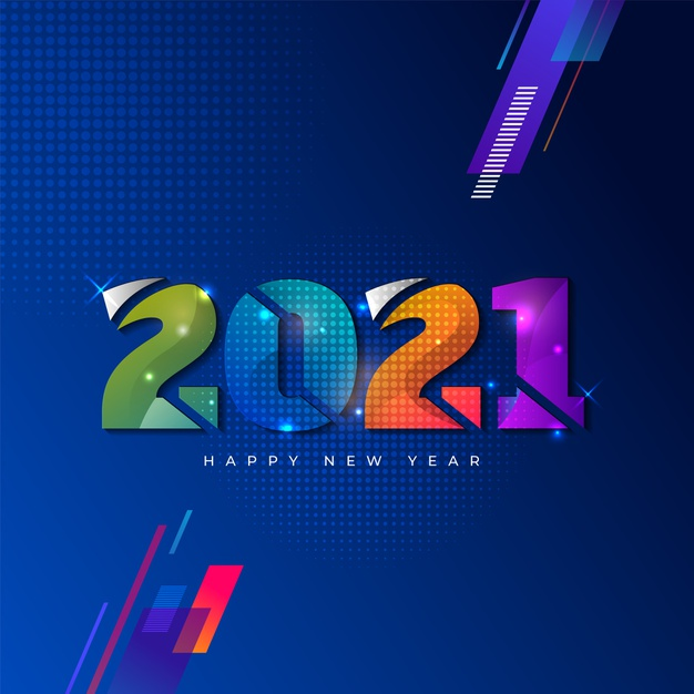 New Year 2021 Messages Cards