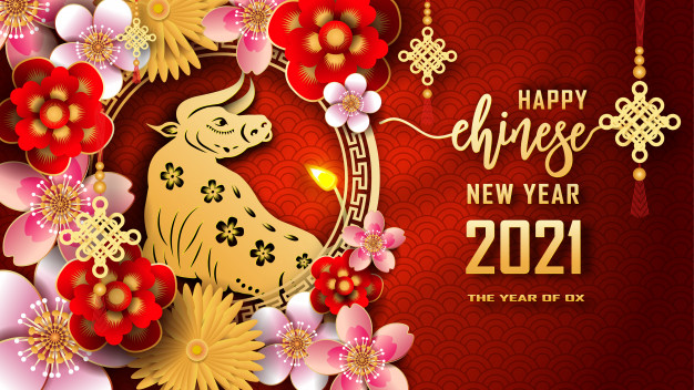 Happy Chinese New Year 2021 Cards