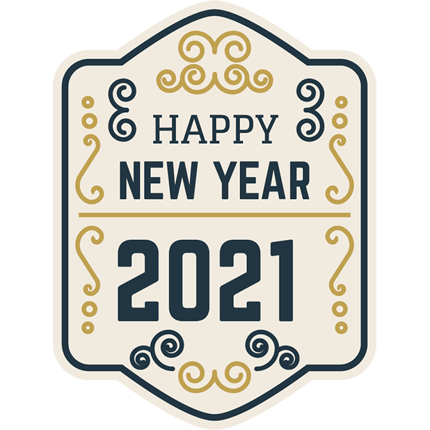 Happy New Year 2021 Classic