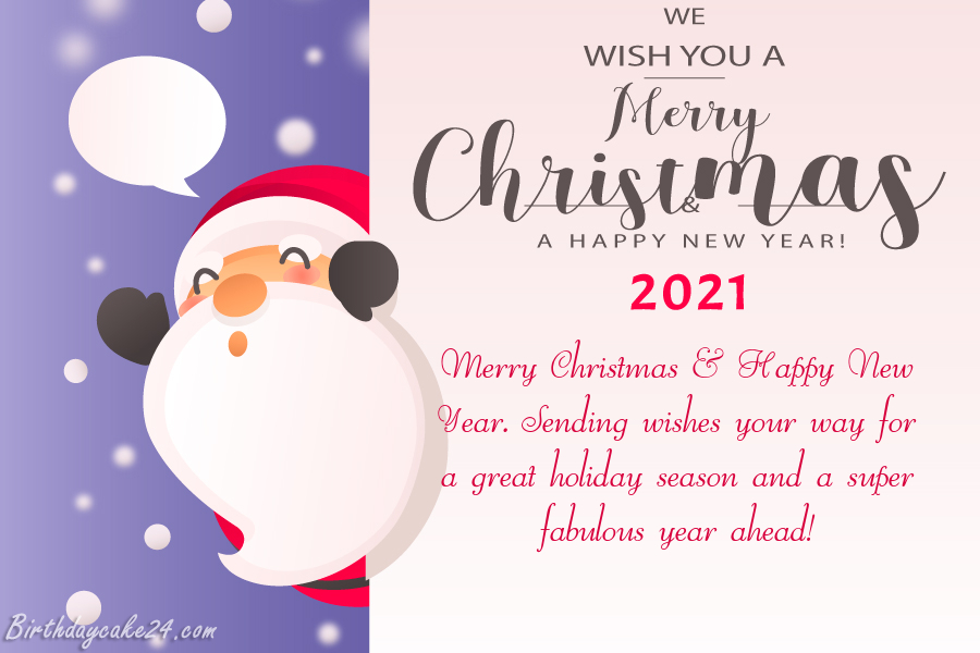 Merry Christmas 2021 Happy New Year